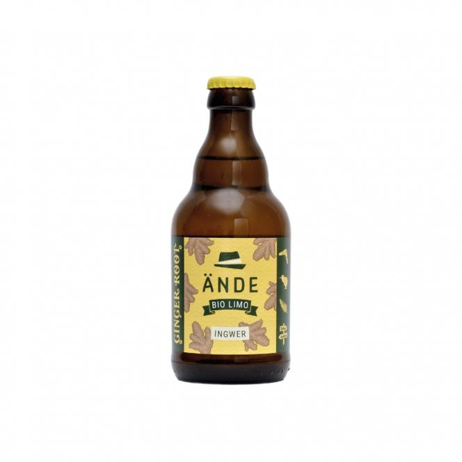 Ginger Root - Ingwerlimo 0,33l inkl. Pfand