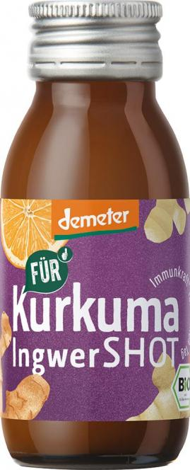 Kurkuma Ingwer Shot 60ml